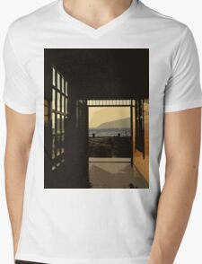 from darkness to light Mens V-Neck T-Shirt