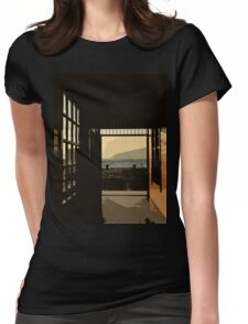 from darkness to light Womens Fitted T-Shirt
