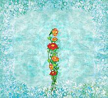 Floral #1 by Silvia Neto