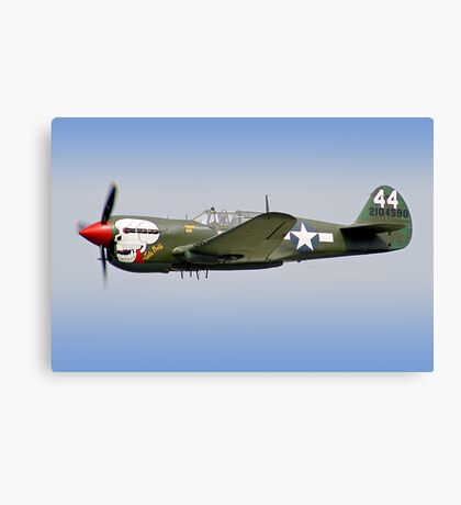 "Curtiss P-40M Kittyhawk -  ""Lulu Belle"" - Dunsfold 2013 Canvas Print"