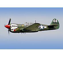 "Curtiss P-40M Kittyhawk -  ""Lulu Belle"" - Dunsfold 2013 Photographic Print"