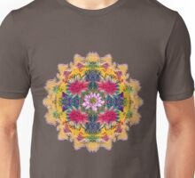 Lotus Mandala Collage  Unisex T-Shirt
