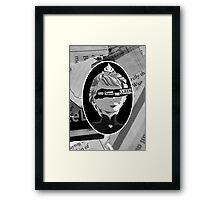 God Save the Ice Queen Framed Print