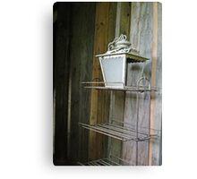 Brass Lamp Canvas Print