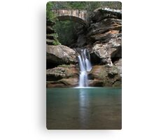 Waterfall at Old Man's Cave Canvas Print