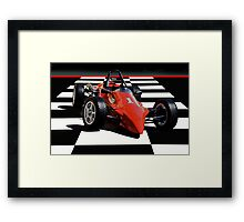 Mazda - Indy Training Car I Framed Print
