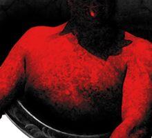 Haxan red devil Sticker
