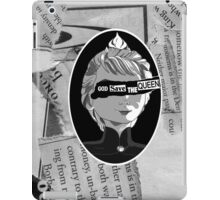 God Save the Ice Queen iPad Case/Skin