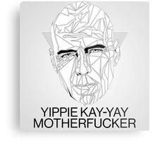 My Name in John McClane Metal Print