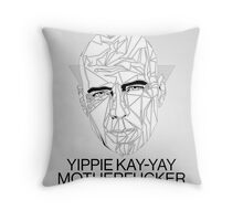 My Name in John McClane Throw Pillow