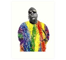 Biggie Pappa Art Print
