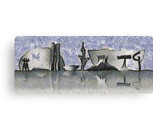 Brasilia city skyline Canvas Print