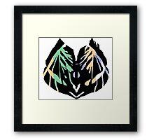 Tropical Leave Framed Print
