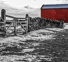 Shakertown Red Barn - SC by mcstory
