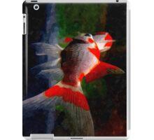 watercolor fish iPad Case/Skin