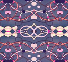 Abstract Decorative Pattern by DFLCreative