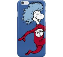 Thing 1 and Thing 2 iPhone Case/Skin
