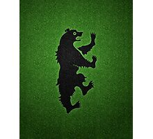 House Mormont (Game of Thrones) Photographic Print