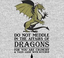 2 Many Dragon Meddlers Unisex T-Shirt