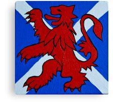 Scottish Pride Canvas Print