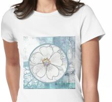 Mint rose Womens Fitted T-Shirt