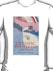 Olympic Bobsled, Lake Placid T-Shirt