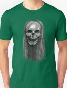 Skelethal skull Unisex T-Shirt