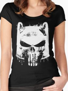 Finn the Punisher Women's Fitted Scoop T-Shirt