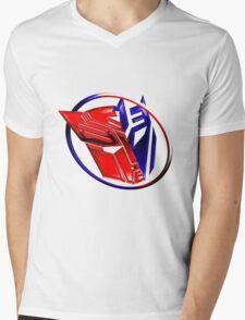 DeceptiBot Mens V-Neck T-Shirt