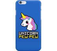 Unicorn Pew-Pew! iPhone Case/Skin