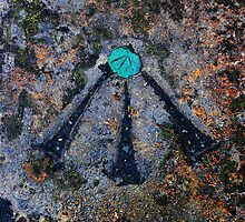 Copper Bolt Bench Mark  by Wrayzo