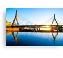 Zakim Bridge, Boston Canvas Print