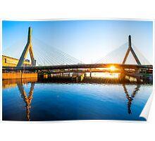 Zakim Bridge, Boston Poster