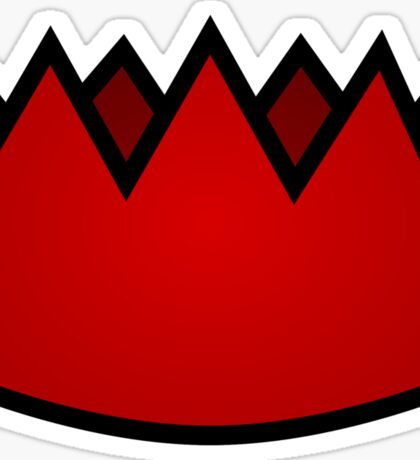 Red Party Hat Sticker