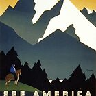 See America, Montana by Vintagee