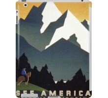 See America, Montana iPad Case/Skin