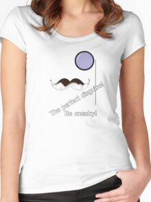 THE PERFECT DISGUISE! Women's Fitted Scoop T-Shirt