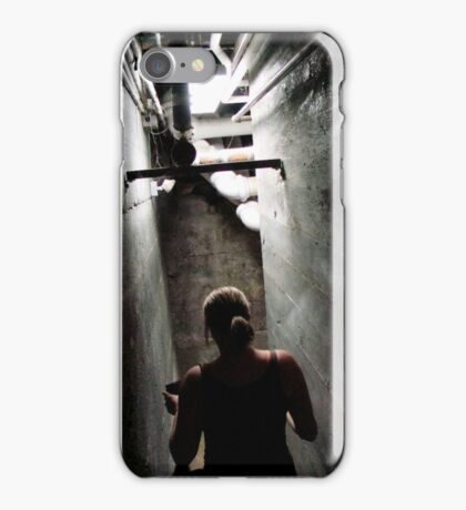 Creeping Down the Stairs iPhone Case/Skin
