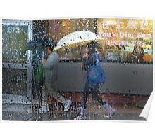 Dim Sum in the Rain Poster