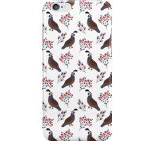Smiling birds in the garden iPhone Case/Skin