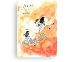 Ariel book cover Canvas Print