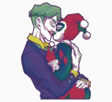 Joker & HarleyQuinn - Retro T-Shirt