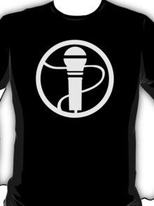 RockBand Instrument Symbol - Mic T-Shirt