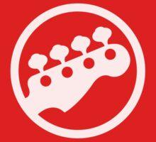 T-Shirt like Scott Pilgrim vs. The World Rock Band Instrument Symbol - Bass Kids Clothes