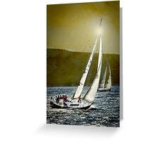 sailrace Greeting Card