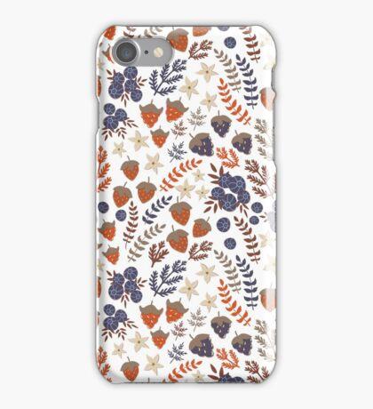 Summer morning in the garden iPhone Case/Skin