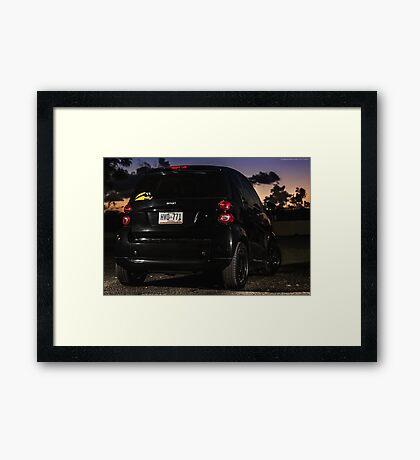 Smart Sunset Framed Print