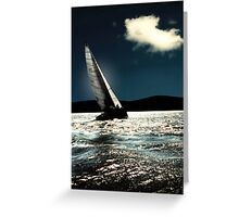 sailrace Greeting Card