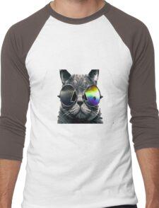 The coolest cat Men's Baseball ¾ T-Shirt