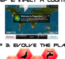 How to play Plague Inc.  Sticker